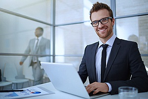 an HR outsourcing solutions manager who is helping a small business with all of their HR needs