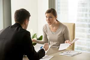 poor conflict resolution between manager and employee