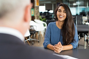 positive interview because company engage with talent acquisition consultant