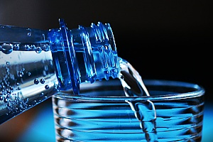 water bottle and cup