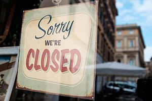Closed store forced to furlough employees
