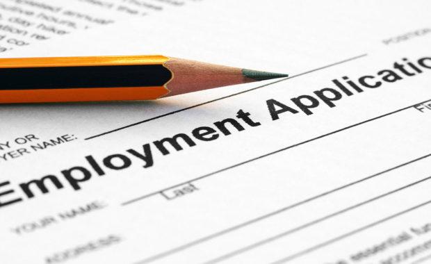 Employment Applications form
