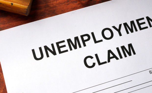 Unemployment claim occurring since covid