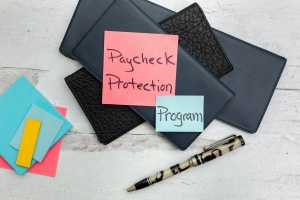 paycheck protection program on some blank checks