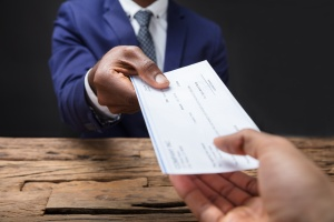 Employee receiving from new compensation plan