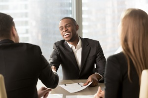 Positive employee engagement reviews