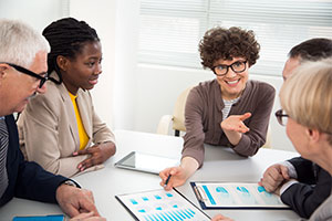 employee staff happy with custom salary survey results