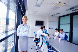 business women talking Compensation Strategy